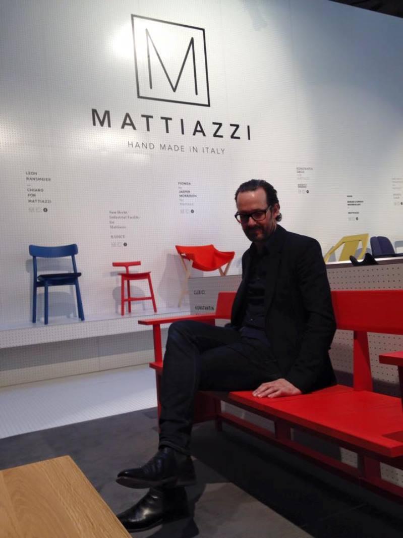 Milán 2015: asientos Clerici - Konstantin Grcic Mattiazzi